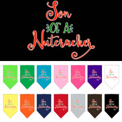 Son of a Nutcracker Screen Print Bandana