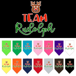 Team Rudolph Screen Print Bandana