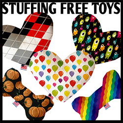 MADE IN THE USA Plush Stuffing Free Toys