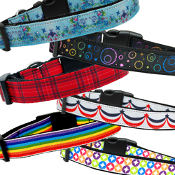 Nylon Ribbon Pet Collars