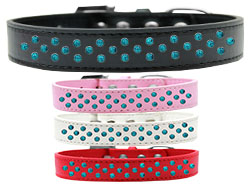 Sprinkles Dog Collar Southwest Turquoise Pearls