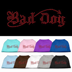 Bad Dog Rhinestone Pet Shirts