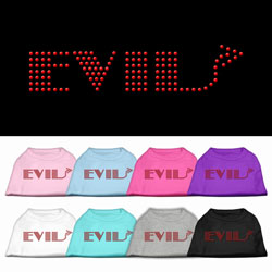 Evil Rhinestone Pet Shirts