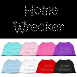 Home Wrecker Rhinestone Pet Shirts