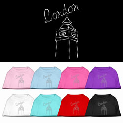 London Rhinestone Pet Shirts