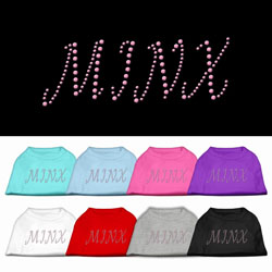 Minx Rhinestone Pet Shirts
