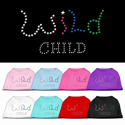 Wild Child Rhinestone Pet Shirts