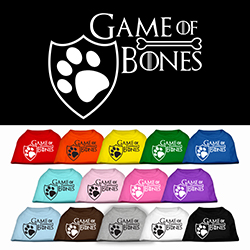 Game of Bones Screen Print Dog Shirt