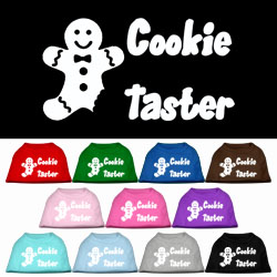 Cookie Taster Screen Print Pet Shirts