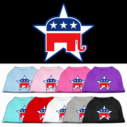 Republican Screen Print Pet Shirts