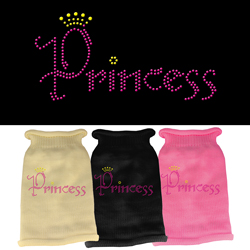 Princess Rhinestone Knit Pet Sweater