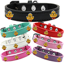Chickadee Widget Premium Dog Collar