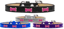 Pink Bone Widget Ice Cream Dog Collar