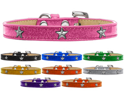 Silver Star Widget Ice Cream Dog Collars