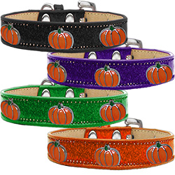 Pumpkin Widget Ice Cream Dog Collar