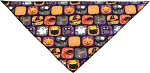 Classic Halloween Tie-On Pet Bandana Size Small