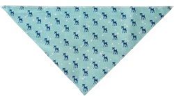 Reindeer Tie-On Pet Bandana Size Large