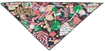Sparkle Treats Tie-On Pet Bandana Size Small