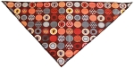 Fall Paw Tie-On Pet Bandana Size Small