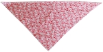 Pink Scottie Tie-On Pet Bandana Size Small
