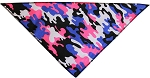 Urban Chick Camo Tie-On Pet Bandana Size Small