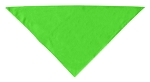 Plain Bandana Lime Green Small