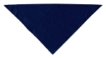 Plain Bandana Navy Blue Small