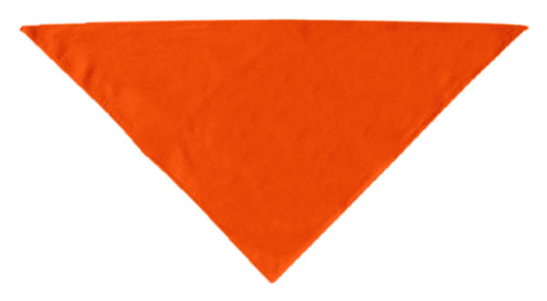 Plain Bandana Orange Large