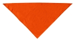 Plain Bandana Orange Small