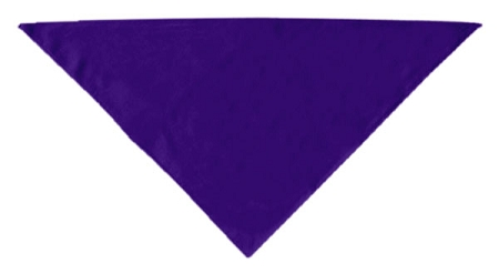 Plain Bandana Purple Large