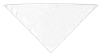 Plain Bandana White Small