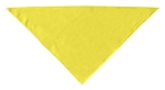 Plain Bandana Yellow Small