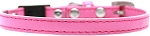 Plain Breakaway Cat Collar Bright Pink Size 10
