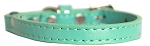 Premium Plain Cat safety collar Aqua Size 10