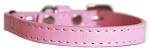 Premium Plain Cat safety collar Light Pink Size 10