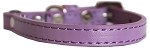 Premium Plain Cat safety collar Lavender Size 10