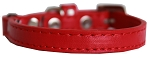 Premium Plain Cat safety collar Red Size 10