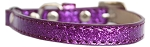 Ice Cream Plain Cat safety collar Purple Size 10
