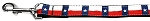 Texas Flag Nylon Dog Leash 3/8 inch wide 6ft Long
