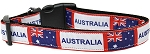 Australia Nylon Dog Collar SM