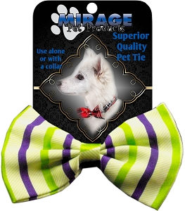 Summer Breeze Pet Bow Tie Collar Accessory with Velcro
