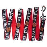 Football Pet Leash Black Large
