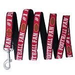 Football Pet Leash Red Medium