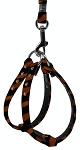 Animal Print Step In Harness Tiger 10