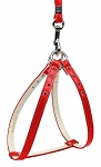 Step-In Harness Red w/ Red Stones 10