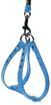 Glossy Patent Step In Harness Baby Blue 10