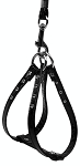 Glossy Patent Step In Harness Black 10