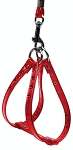 Glossy Patent Step In Harness Red 10