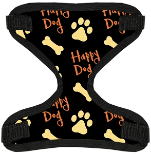 Happy Dog Canvas and Mesh Pet Harness Large