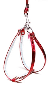 Metallic Step-In Harness Red MTL 10